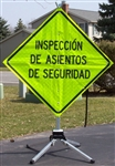 Spanish Safety Seat Checkpoint Sign